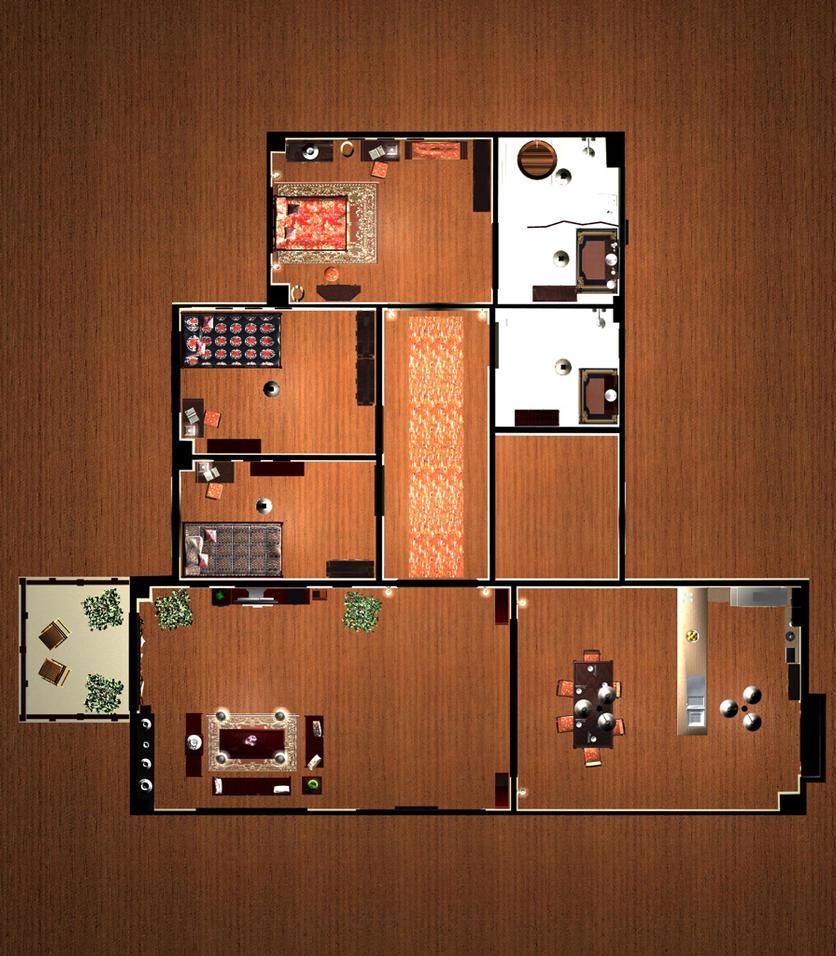 Floor Plan 1 by murdoc192000