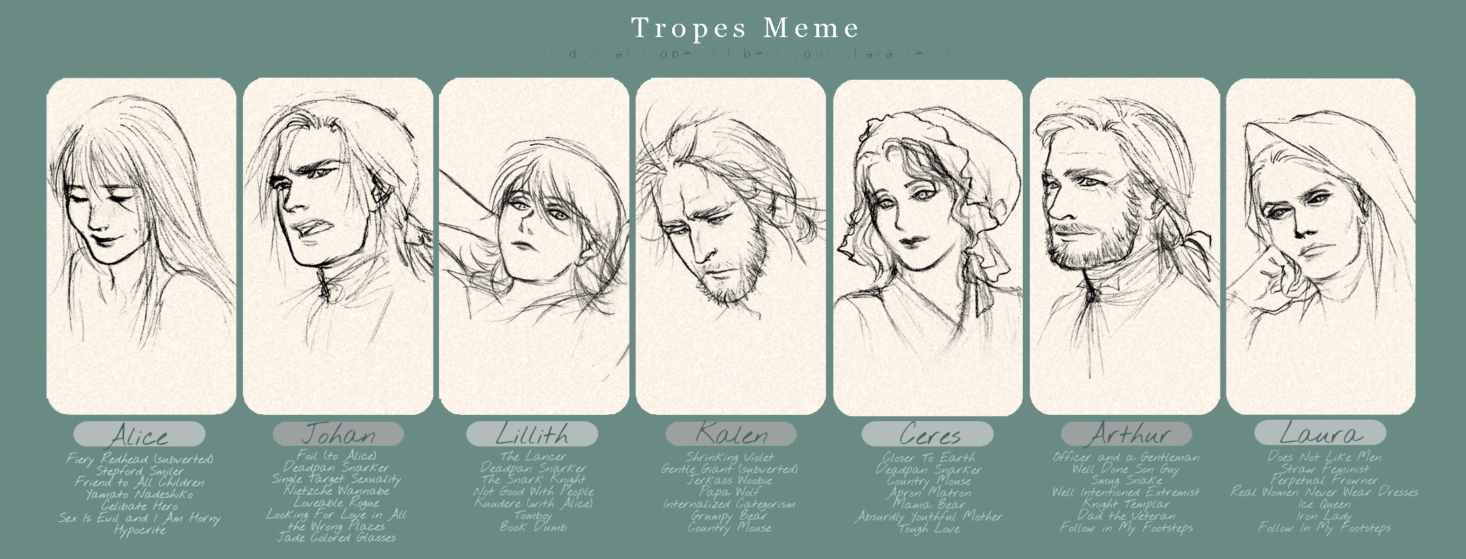 Trope-tan and Co. on Tropers - DeviantArt