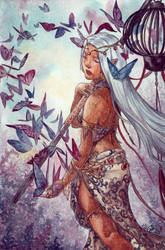 Weena and the butterflies