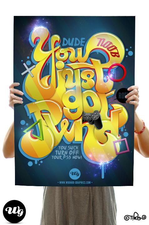 PWND - Poster by TikO974