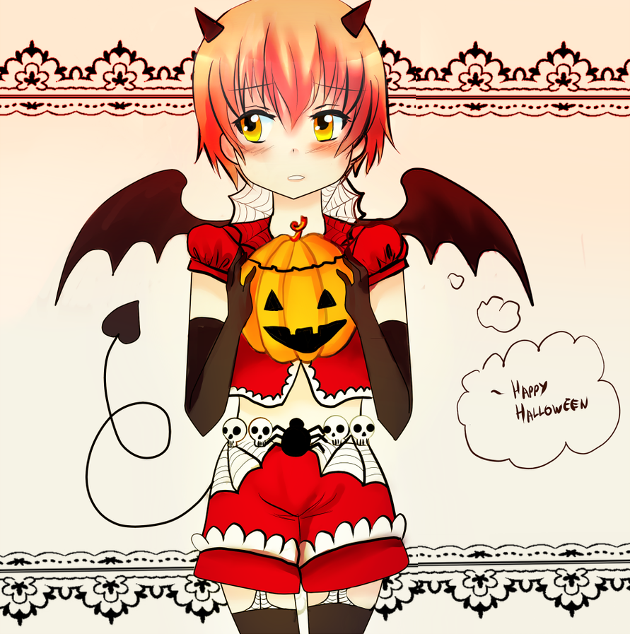 Happy halloweeen by luckynyan4