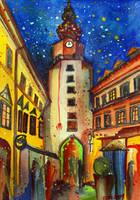 Inspired by Bratislava III by zzen