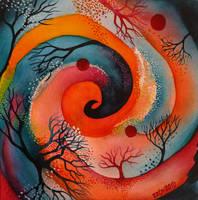 Red Spiral by zzen