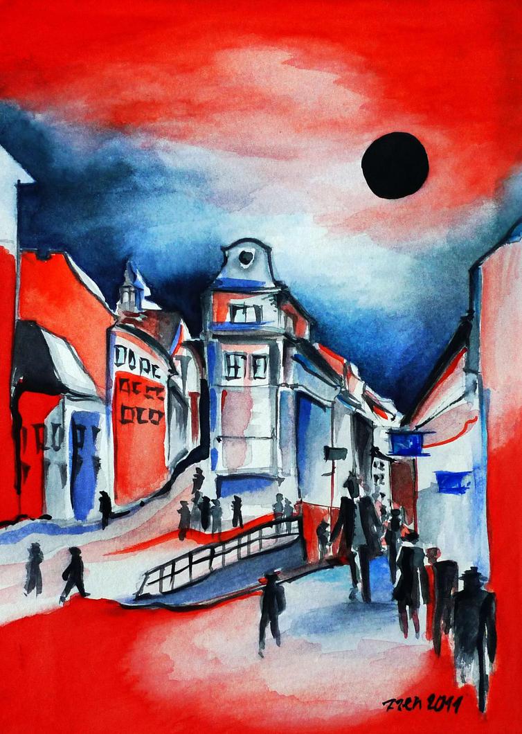 Inspired by Old Bratislava by zzen