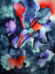 Dark Roses by zzen