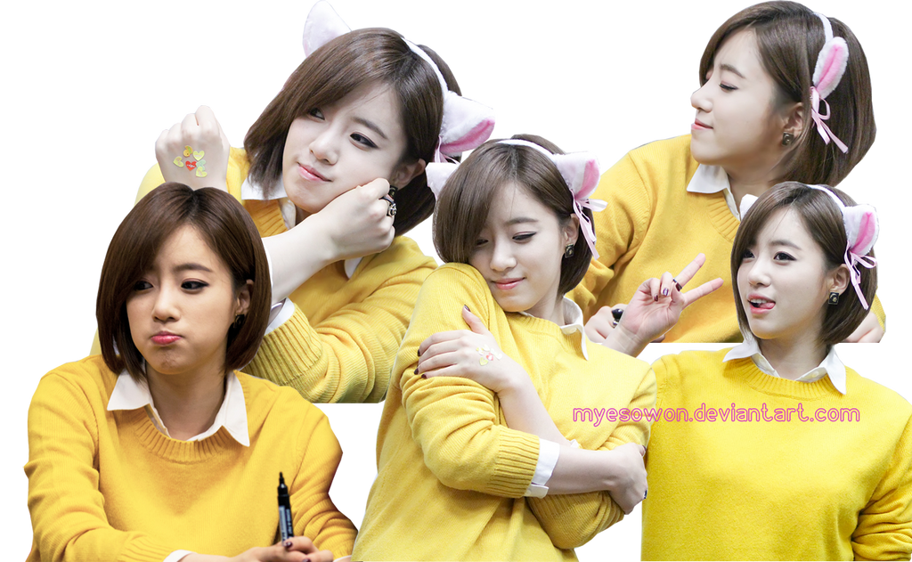 [PNG's Pack] Pack #5 - PNG Render Eunjung by Mye by myesowon