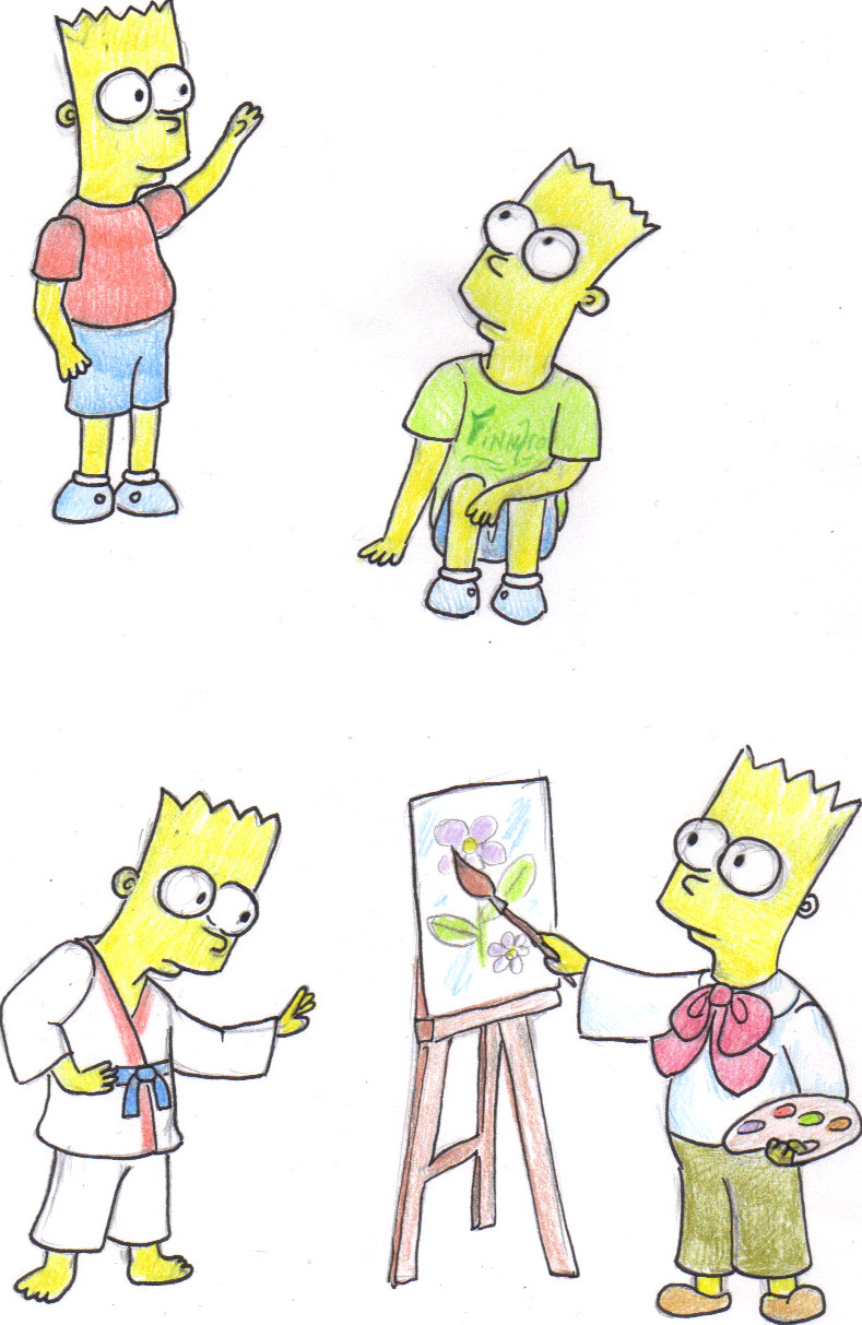 Bart Simpson by Voytazi