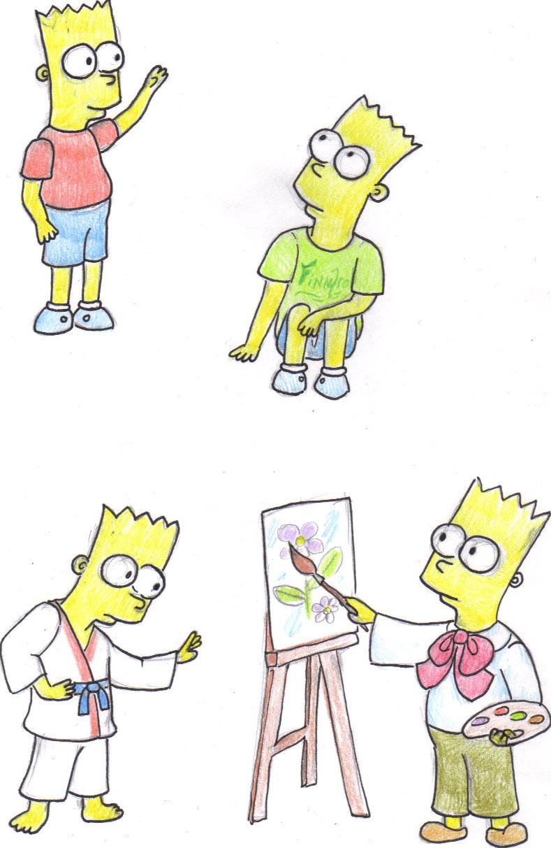 Bart Simpson by Voytazi