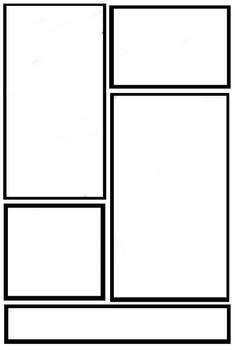 A blank comic panel