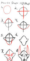 How to draw HD front