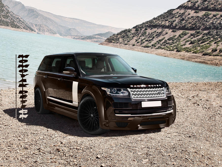 Land Rover Range Rover Vogue By Momoyak By Momoyak On
