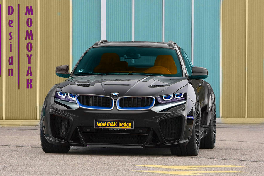 BMW X6 M 2015 Black By MOMOYAK