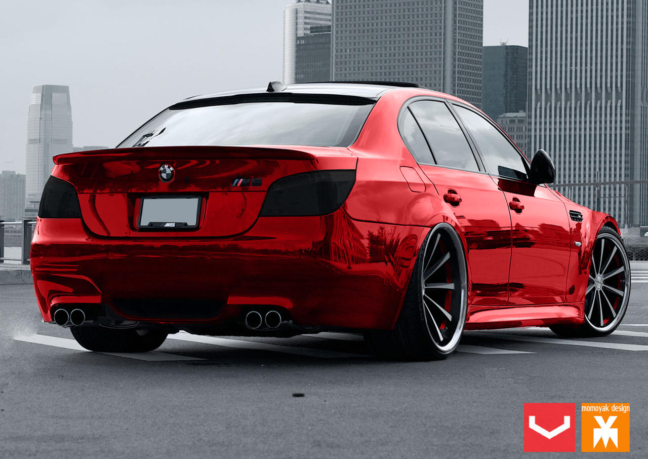 Bmw E60 M5 With Vossen Vvscv1 By Momoyak By Momoyak On