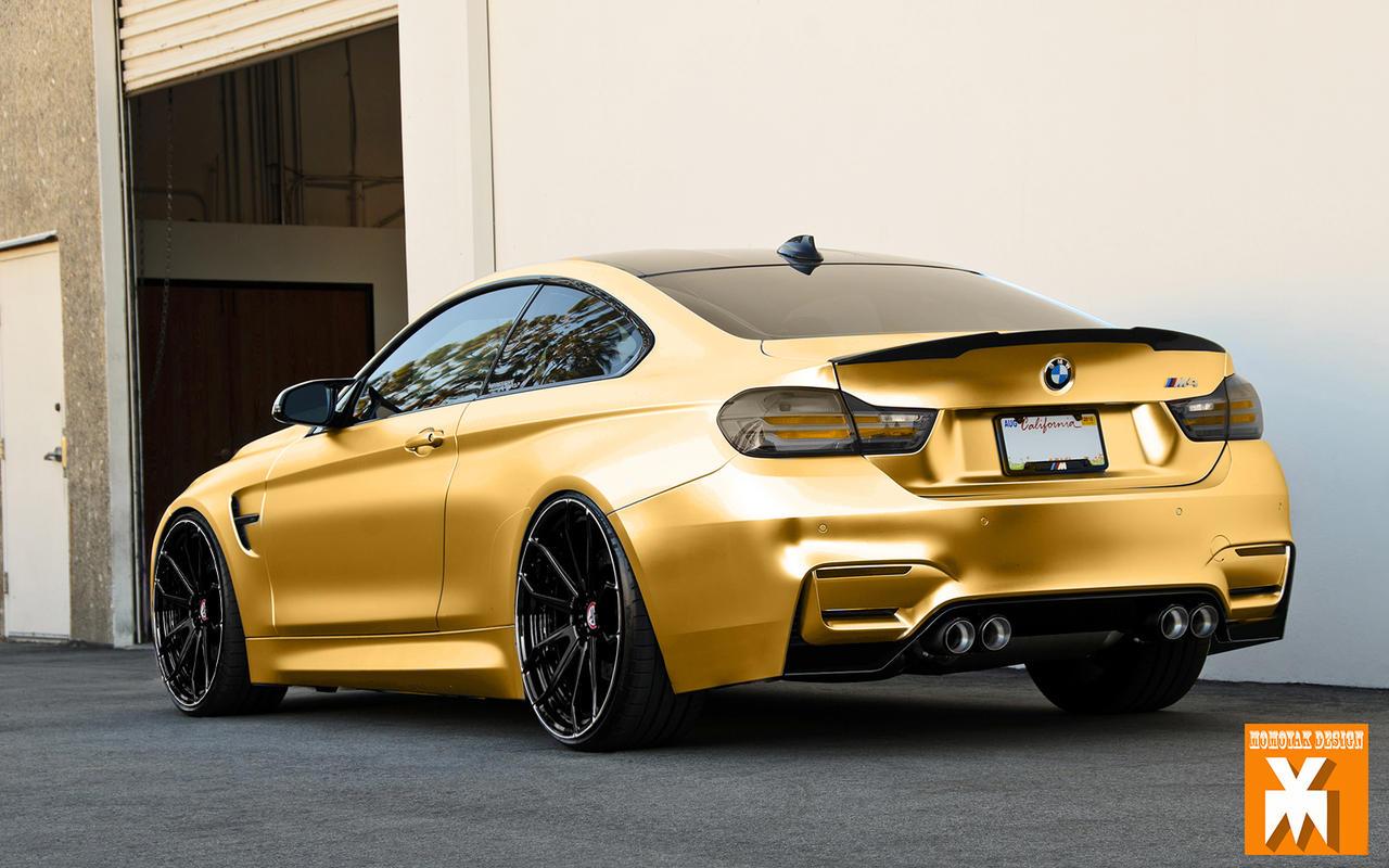 Bmw M4 Gold Chrome