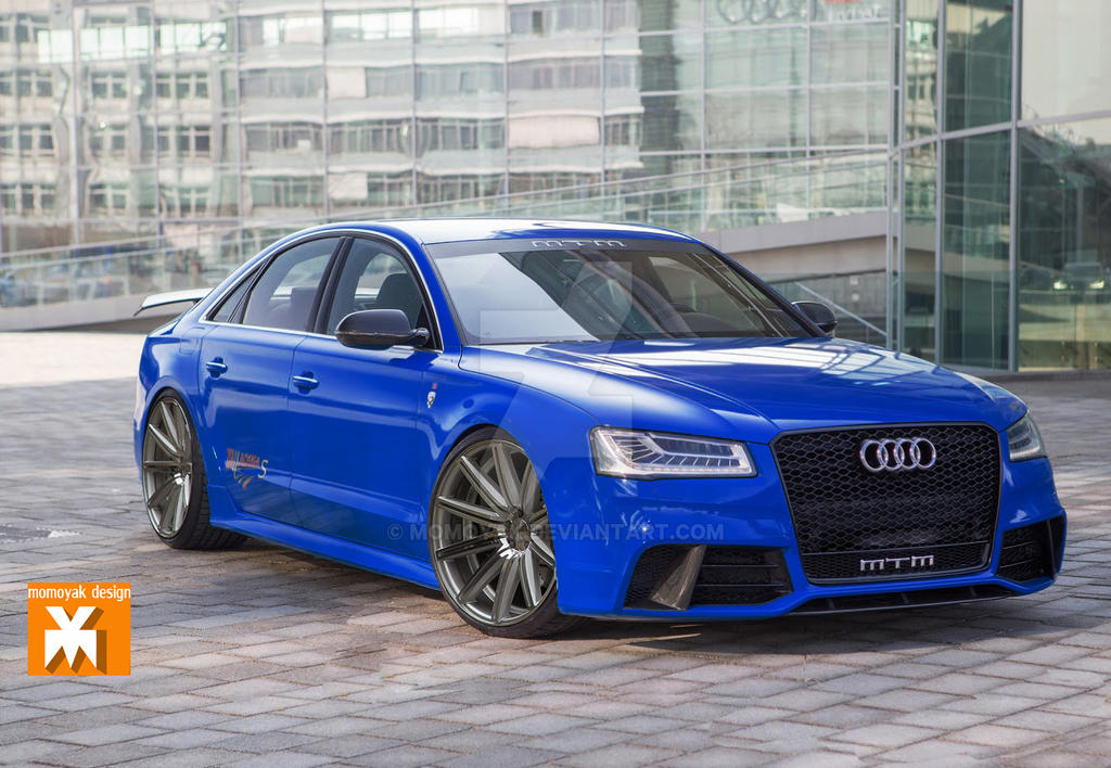 <b>Audi S8 MTM</b> 760 HP Talladega Review | The RS8 That Never Was ...