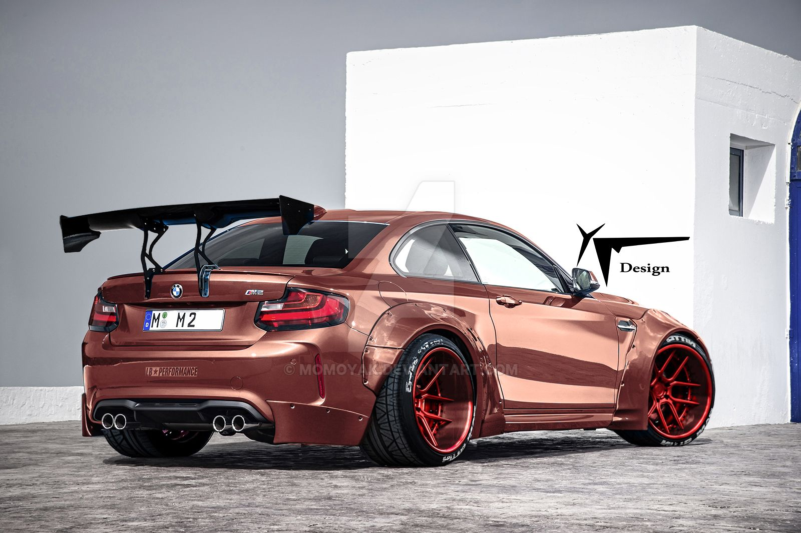 Liberty Walk Bmw F87 M2 By Momoyak By Momoyak On Deviantart