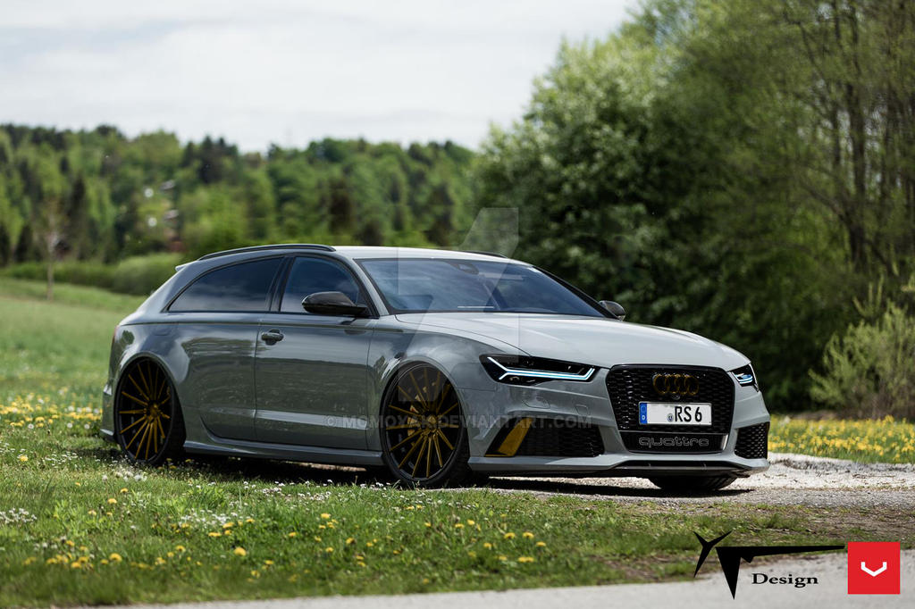 audi rs6 shooting brake on vossen vfs2 by momoyak by momoyak on deviantart. Black Bedroom Furniture Sets. Home Design Ideas