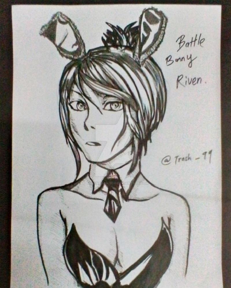 battle bunny riven by BananaSaikyou