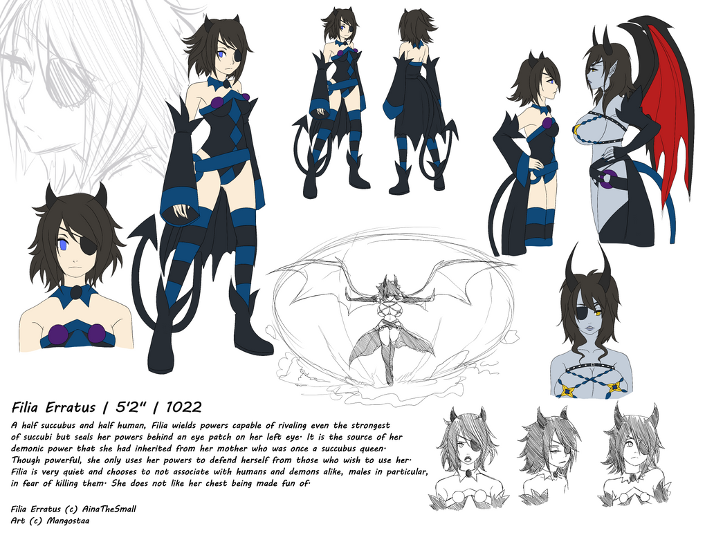 Filia Reference Sheet By Mangostaa by AinaTheSmall