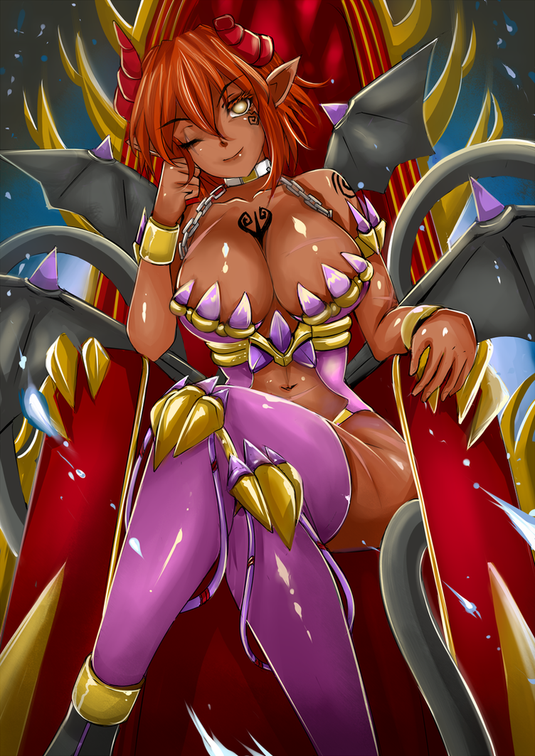 Vaile  Valmitus ~ The Former Succubus Queen by AinaTheSmall