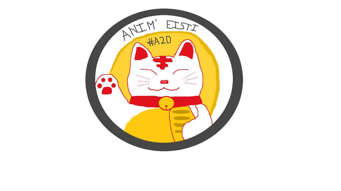 Logo of Anim' EISTI ! Day 10 by Addict2Draw