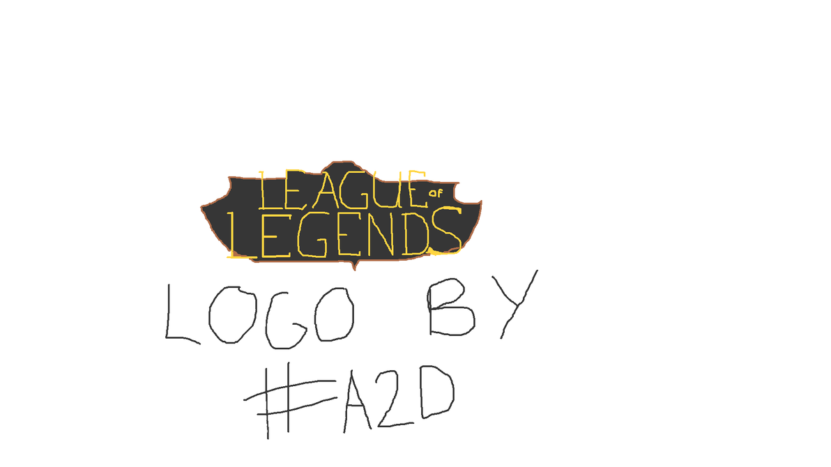 Day12 ! League of Legends logo ! by Addict2Draw
