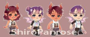 Fantage Halloween Fan Art by ShiroPanrose