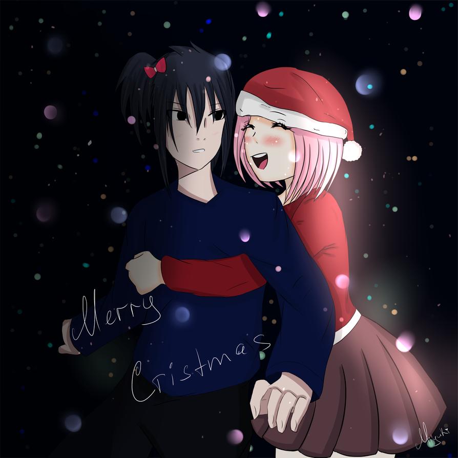 Sasuke and Sakura by MiyukiSudzuki