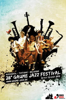 Gaume Jazz Festival 2012 - Poster submission