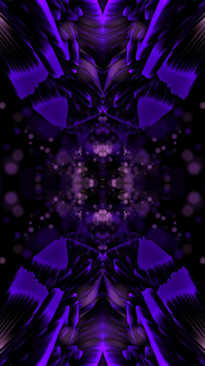 **FREE Purple Glow 4K (Portrait) Wallpaper by XxStryveRxX