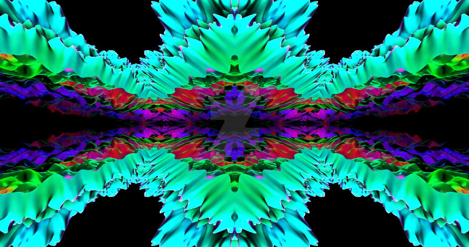4th Dimension 4K Rainbow Wallpaper by XxStryveRxX