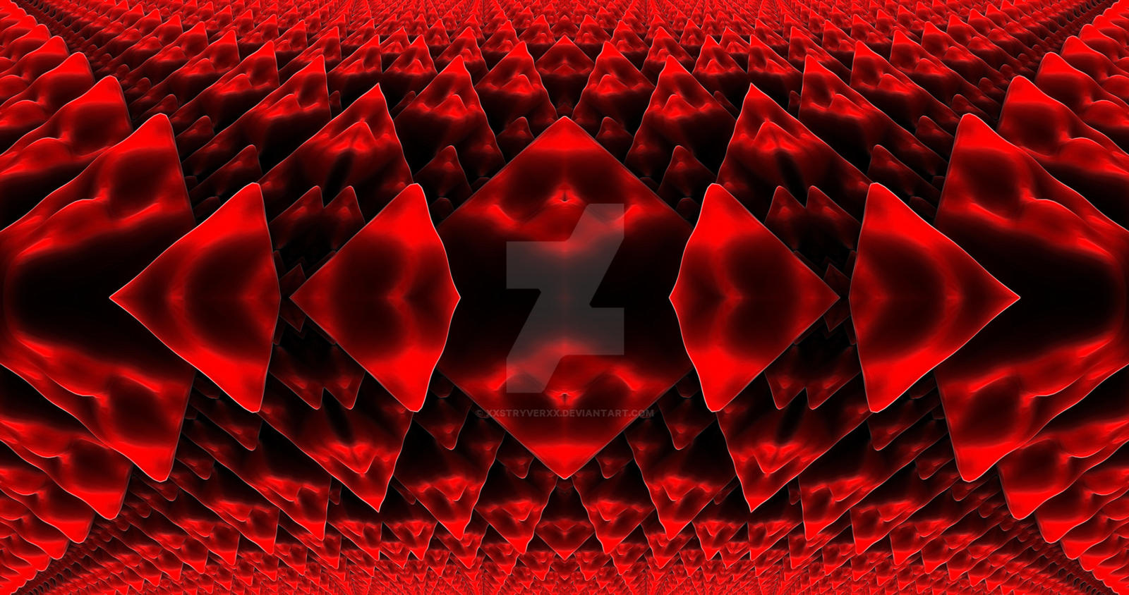 REDscales 4K Wallpaper by XxStryveRxX
