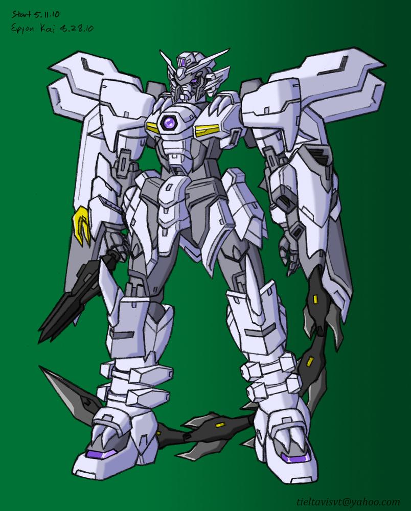Gundam Epyon Kai by Seraphiczero