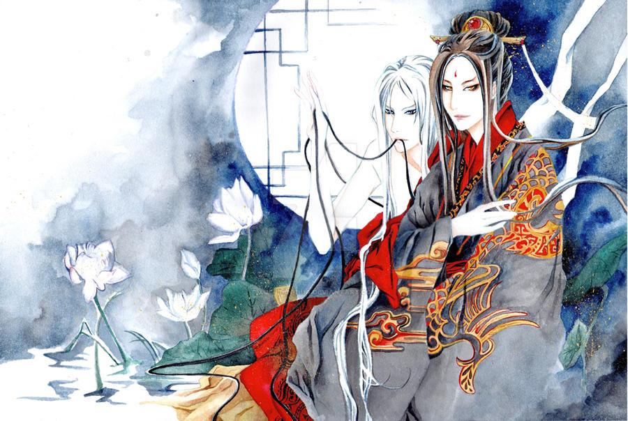 Silent lotus by Xue-Lian-Hua