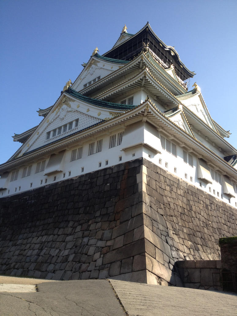 Mighty Osaka Castle by zoro-swordsman