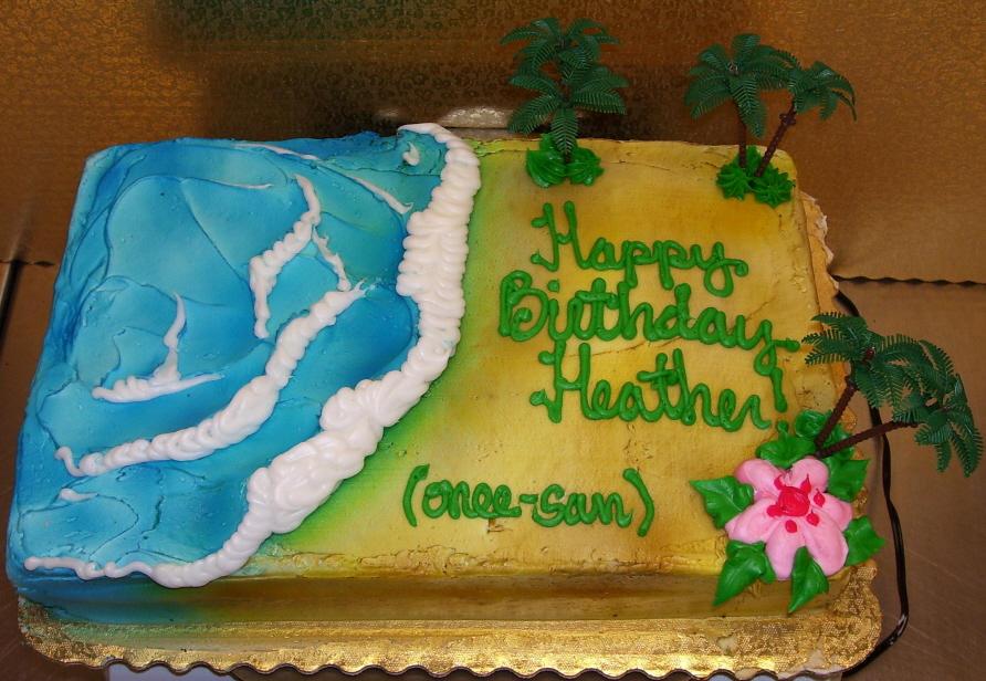 Meis Beach Cake by zoro swordsman on DeviantArt