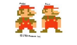 Mario (1985 redraw)