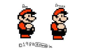 SMB3 Big Mario redraw