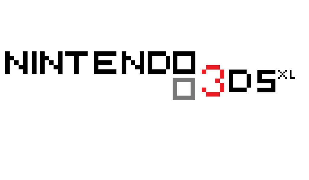 nintendo 3ds xl pixelogo 1 by daflame12 on deviantart