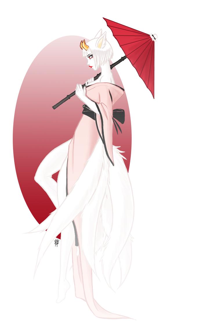 Gaia Commission - The Black Tea Geisha by Ukeaco