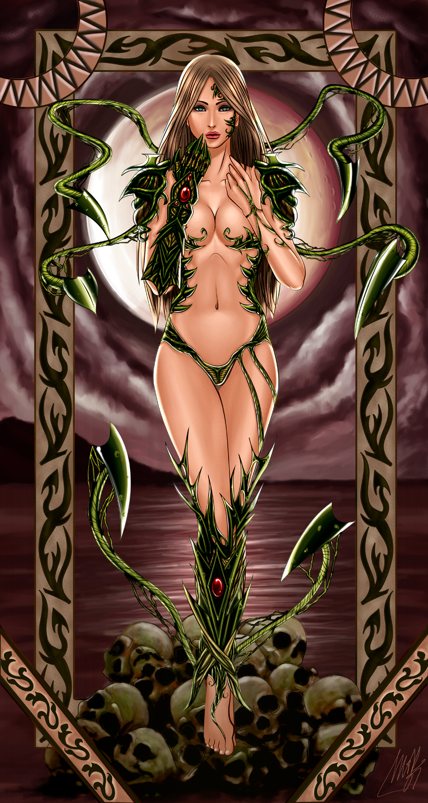 The Witchblade by MohK