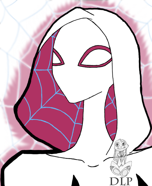Spidergwen by DamitaLPerez
