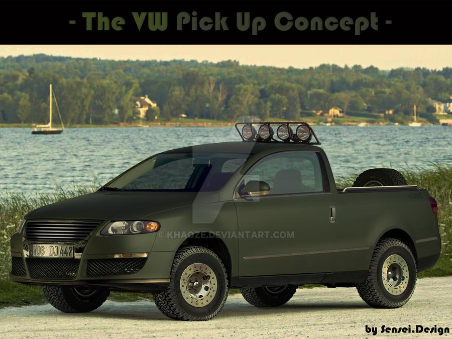 El Oso - VW Pick Up Concept by khaoze