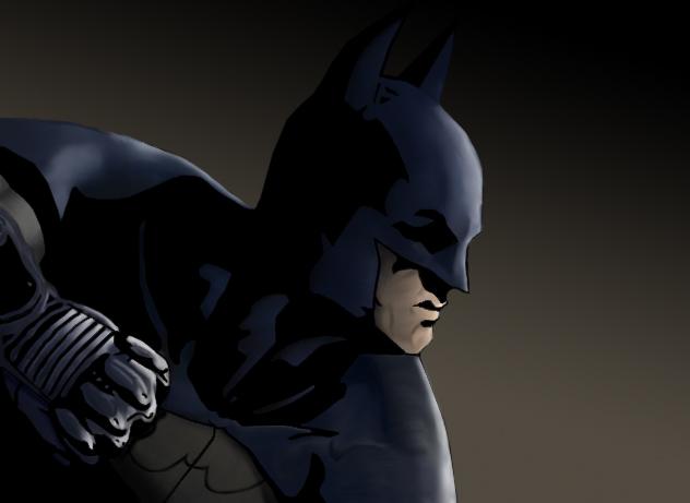 Arkham bat by solid-snake92