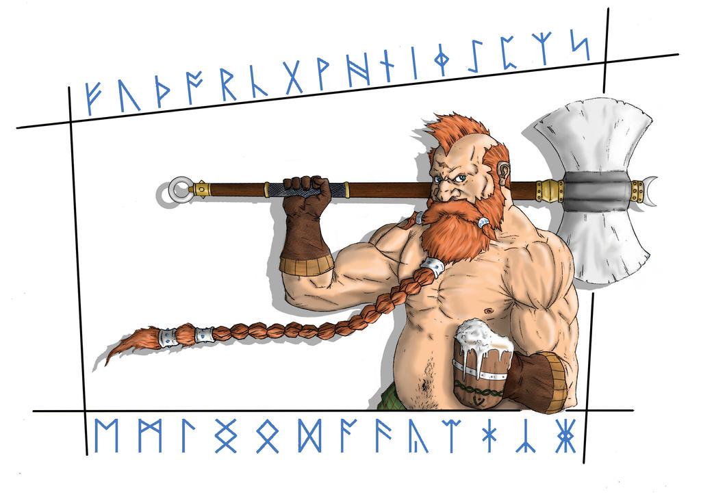 Hob, the drunken dwarf by solid-snake92