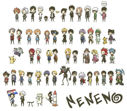 Death Note 8 Bit Ringtone: Fan Sprites By Neneno On DeviantArt