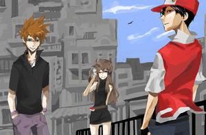 Pokemon RBG by neneno