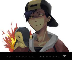 Pokemon Gold by neneno