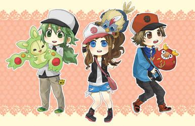 Pokemon BW Characters
