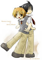 Remus and Sirius by neneno